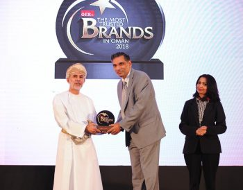 Most Trusted Brand in Oman 2018 OER